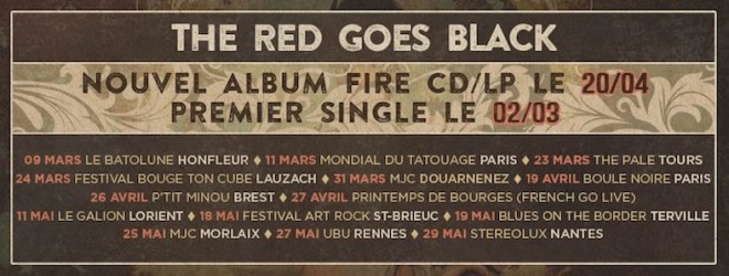 New album The Red Goes Black